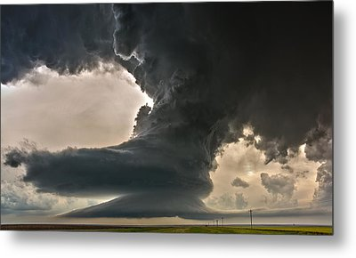 Liberty Bell Supercell Metal Print