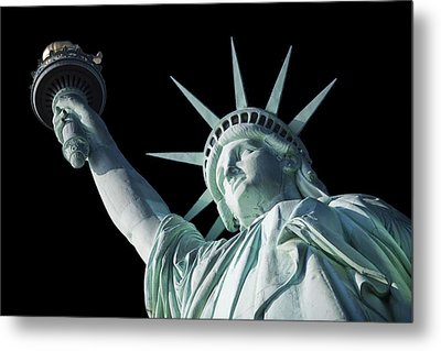 Liberty II Metal Print by  Newwwman
