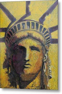 Liberty Metal Print by John Henne