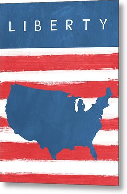 Liberty Metal Print by Linda Woods