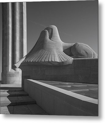 Liberty Memorial Kansas City Missouri Metal Print