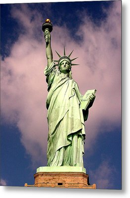 Metal Print featuring the photograph Liberty V01 by Tim Mattox