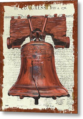 Life And Liberty Metal Print