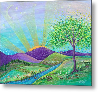 Love And Life Metal Print by Tanielle Childers