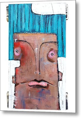 Life As Human Number Six Metal Print by Mark M  Mellon