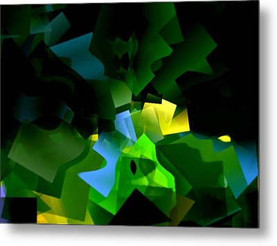 Life In Abstract - 001 Metal Print by Dave Stubblefield