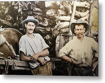 Metal Print featuring the photograph Life In Australia 1901 To 1914 by Miroslava Jurcik