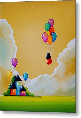 Life Of The Party Metal Print