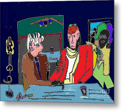 Life Of The Party Politics Presents  Metal Print by Michael OKeefe