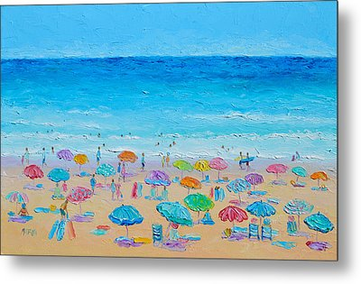 Life On The Beach Metal Print