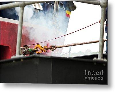 Lifeboat Chocks Away  Metal Print