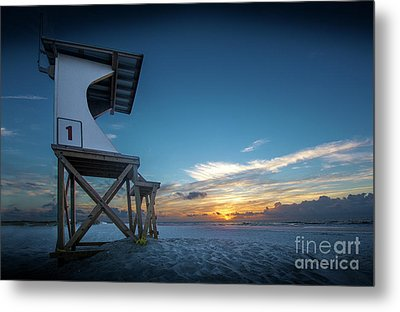 Metal Print featuring the photograph Lifeguard by Brian Jones