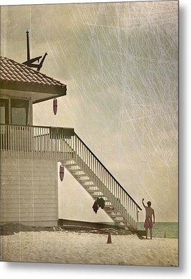 Lifeguard Daze Metal Print by Kevin Bergen