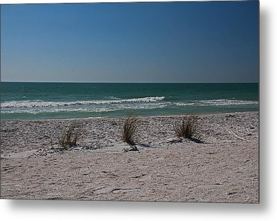 Metal Print featuring the photograph Life's A Beach by Michiale Schneider