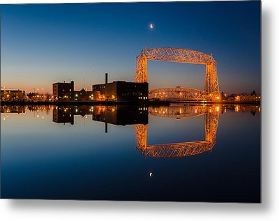 Lift Bridge Metal Print