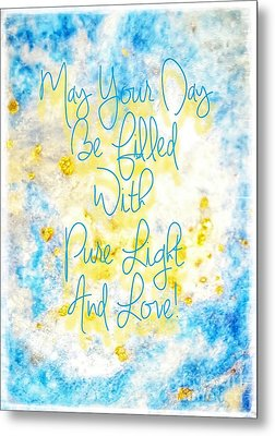 Light And Love Metal Print
