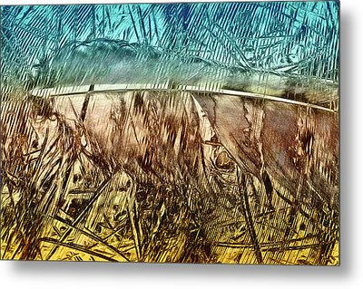 Light As A Feather Metal Print by Becky Titus