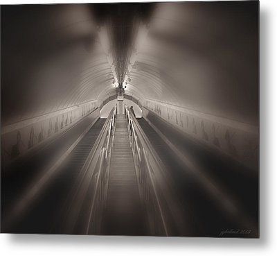 Light At The End Metal Print by Joseph G Holland
