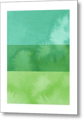 Light Breeze- Art By Linda Woods Metal Print by Linda Woods