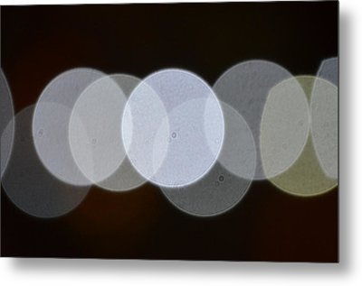 Light Cells Metal Print by Riad Belhimer