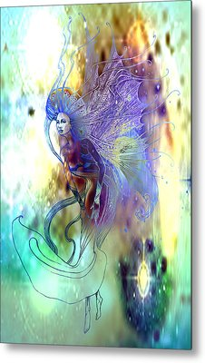Metal Print featuring the painting Light Dancer by Ragen Mendenhall