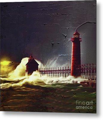 Light House 07 Metal Print by Gull G