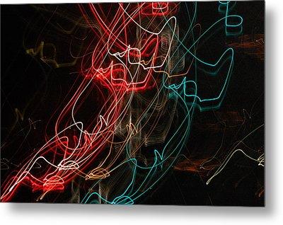 Light In Motion Metal Print by David Lane