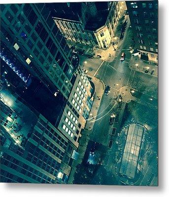 Light In The City 2 Metal Print