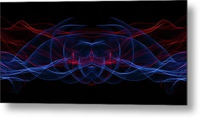 Light Motion Series 3 Metal Print by Nathan Larson