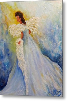 Light Of Grace,angel Metal Print