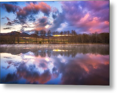 Light Of The Lake Metal Print by Darren  White