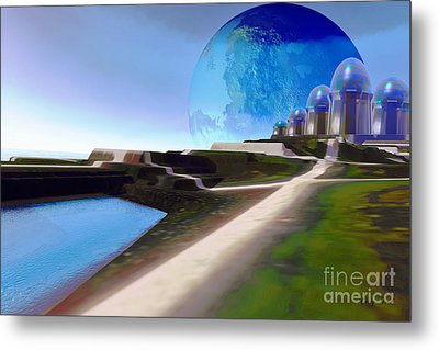 Light Path Metal Print by Corey Ford