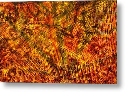 Metal Print featuring the mixed media Light Play by Sami Tiainen