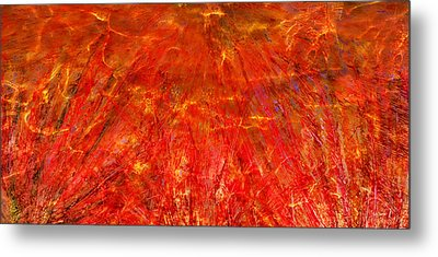 Metal Print featuring the mixed media Light Storm by Sami Tiainen