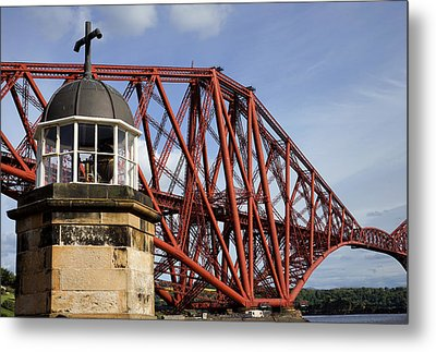 Metal Print featuring the photograph Light Tower by Jeremy Lavender Photography
