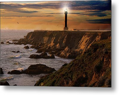 Lighthouse  Metal Print by Harry Spitz