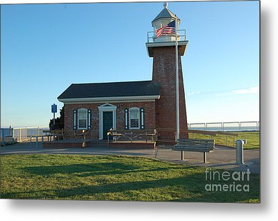 lighthouse in Santa Cruz Metal Print