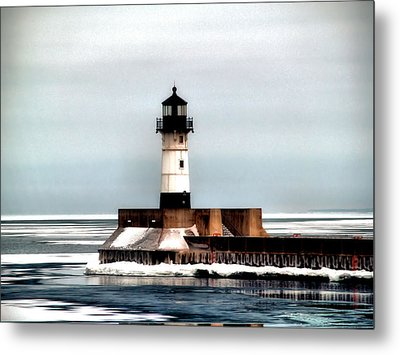 Lighthouse Metal Print by Jimmy Ostgard
