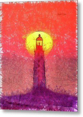 Lighthouse Metal Print by Leonardo Digenio