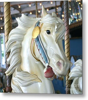 Lighthouse Park Carousel B Metal Print