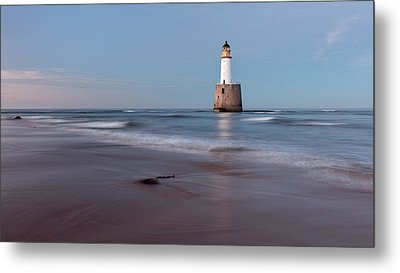 Metal Print featuring the photograph Lighthouse by Grant Glendinning