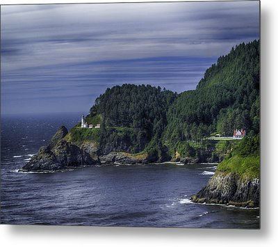 Metal Print featuring the photograph Lighthouse Sanctuary by Rob Wilson