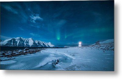 Lighthouse Metal Print by Tor-Ivar Naess