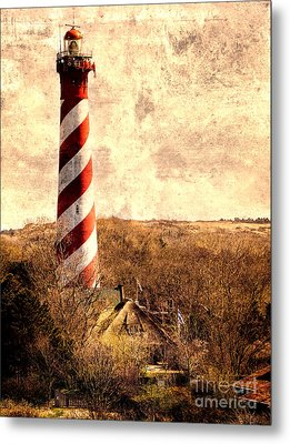 Lighthouse Westerlichttoren Metal Print
