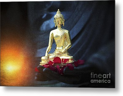 Lighting The Lamp Within Metal Print by Tim Gainey