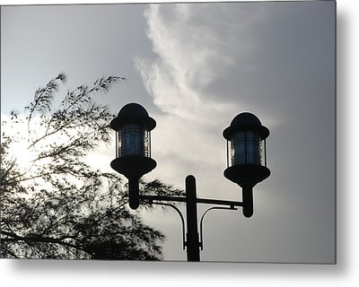 Lights In The Sky Metal Print by Rob Hans