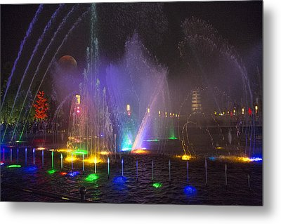 Lights Of A Thousand Wishes Metal Print by Betsy Knapp