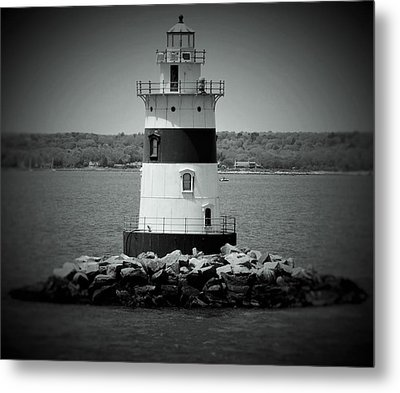 Lights Out-bw Metal Print