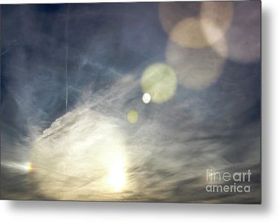 Metal Print featuring the photograph Lightshow by Colleen Kammerer