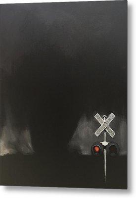 Like A Freight Train Metal Print by Jeffrey Bess